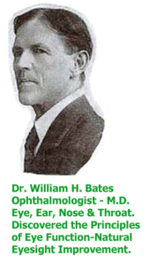 Ophthalmologist Bates